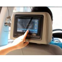 "Quality Embeded In Headrest 7"" Taxi Touch Screen Advertising Mount To The Headrest for sale"
