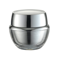 Quality JL-JR814 Screw Sealing PMMA PP15g 30g 50g Acrylic Cosmetic Containers for sale