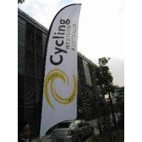 Quality Customized Printable Advertising Feather Flags/Beach Flags for sale