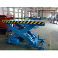 Quality High Strength Manganese Steel Fixed Scissor Lift With 160 - 500KG Rotated Load for sale