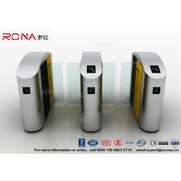 Quality Turnstile Barrier Gate Waist Height RFID Turnstile Security Systems Automatic Flap Barrier Turn Style Door for sale