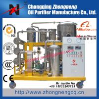 Quality Biodiesel oil purifier / stainless steel oil recycling machine / Black oil regeneration plant TYA-B for sale