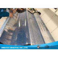 Buy Transparent Waterproof Inkjet Film 24'' x 100' 100mic / Pet Clear Film at wholesale prices