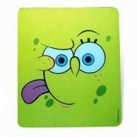 Quality Mouse Pad in Various Colors, Designs with Silkscreen Printing, Made of EVA and PVC for sale