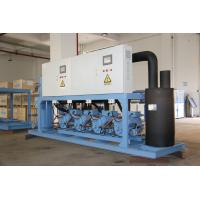 Quality Refcomp Paralleled Industrial Refrigeration Unit High Strength Easy Installation for sale