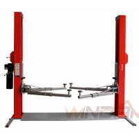 Buy cheap Dual Hydraulic Cylinders Two Post Car Lift With Adjustable Beam from wholesalers