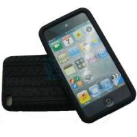Quality Tyre Tread Silicone Rubber Case Cover for iPod Touch 4 for sale