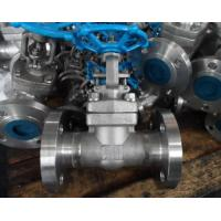Quality A105 High Pressure Forged Gate Valve Threaded / Butt Weld / Socket Weld End for sale