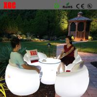 Quality 2016 Hot Selling Whaterproof Furniture LED Glowing Chair For Outdoor Yard Garden Party Club Event Park for sale