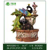 Quality Resin Peacock Water Fountain for sale