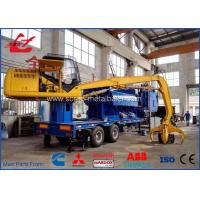 China Mobile Hydraulic Waste Metal Baler Logger 5 meter press room size on sale