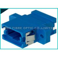 Quality Blue Single Mode Fiber Optic Adapter Simplex MPO MTP Adapter Zirconia Sleeve for sale