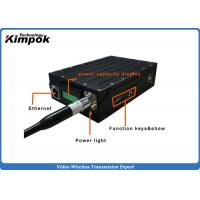 Buy Powerful Full Duplex HD Wireless Video Transmitter RJ45 Port TDD - COFDM Transceiver at wholesale prices