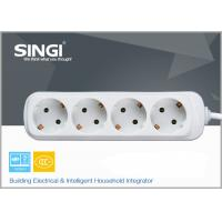 Quality Europe type Extension Socket Outlet Power Strip for kitchen , bedroom for sale