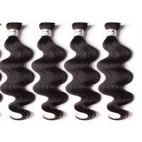 Quality Brazilian Natural Black Body Wave Remy Human Hair Extensions For Black Women for sale