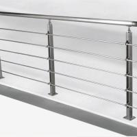 Quality Solid Rod Stainless Steel Railing Design for Balcony / Stairs for sale