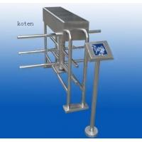 Quality Half Height Turnstile Gate RFID Card Swiping 90 Degree Rotation Solenoid Lock for sale