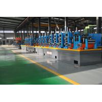 Quality Large Size Industrial Tube Mills , Friction Saw Cutting Square Tube Mill for sale
