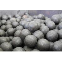 Quality Carbon / Alloy Steel Forged Steel Ball GCr15 Grade Steel Grinding Balls For Cement Plants for sale