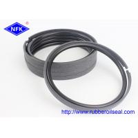 Quality Bronze PTFE Hydraulic Piston Rings 30-90 Shore Hardness For CATERPILLAR Excavator for sale