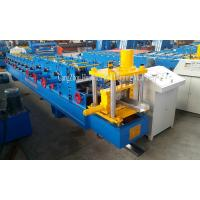 China Building Material Steel Roof Purlin C Channel Roll Forming Machine Auto Punching on sale