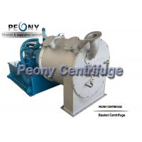 Buy cheap Model PP Sulzer Double Stage Salt Centrifuge For Citric Acid Dewatering from wholesalers