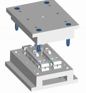 Quality IMD LKM Hasco Mold Base High Precision Interchangeable Core Multi Cavity for sale