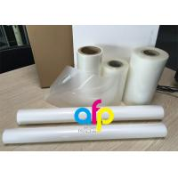 Quality PET Polyester Roll Laminating Film SGS Approval Double Side Corona Treatment for sale
