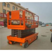 Tight Space Elevated Work Platform Mechanical Scissor Lift For Construction
