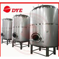 Quality 1500L Vertical SS Bright Beer Tank Flat Bottom , Jacketed Fermentation Tank for sale