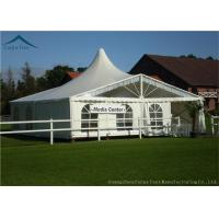 Quality Luxury Custom Event Tents For Parties With Colorful Linings Flame Retardant for sale