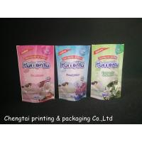 Quality 11* 17.5 Cm Stand Up Bags And Pouches Packing Liquid Detergent / Washing Powder for sale