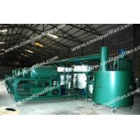 Quality Black Hydraulic Oil Decolor Regeneration, Used Motor Oil Refinery Purifier machine for sale