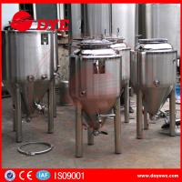 Buy Durable Micro Beer Brewery Fermenting Tanks Pot Machine Equipment at wholesale prices
