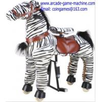 Quality Mechanical Animal Kids Zebra Horse Ride For Sale for sale
