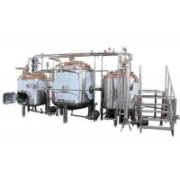 Quality 250Gallon Anti-aging Small Beer Brewing Machine 80MM Insulation Thickness for sale