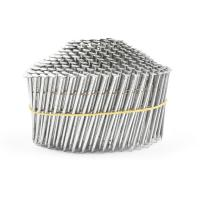 Quality Electric Galvanized Treatment 1-1/4-Inch x 0.092-Inch Full Round Head Pallet Coil Nails for sale