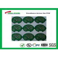 Quality 2 Layer Lead Free HASL Custom Printed Circuit Board PCB Material FR4 1.6MM Green Solder Mask for sale