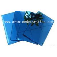 Quality 4mm to 8mm dark blue float glass with CE and ISO high quality , dark blue float glass for sale