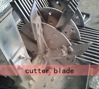 wood powder machine cutter blade