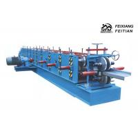 Quality PLC Control C&Z Purlin Forming Machine , Cold Roll Forming Equipment For Construction for sale