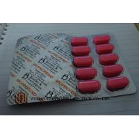 China Pink Ibuprofen Tablets 200mg / 400mg / 600mg Medical Tablets  Moderate Pain Flu Medicine on sale