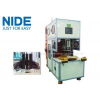 Quality Large Stator Coil Winding Machine Automatic Table Fan Motor Plc Control for sale
