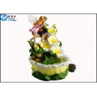 Buy Angel Poly Resin Home Decoration Crafts For Wedding / Gift Ornaments , Lucky at wholesale prices