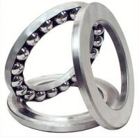 Quality F7-17M High Precision Miniature Thrust Ball Bearing / Axial Bearings Supplied in SAE52100 for sale