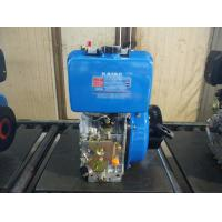 Quality Electric Starter Single Cylinder Diesel Engine , Small Air Cooled Engines for sale