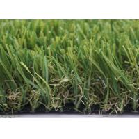 Quality 45mm 13600 Dtex Landscaping Artificial Grass Noise Reduction For Playgrounds for sale