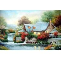 Quality landscape painting tree wall paper for sale