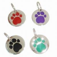 Quality Dog ID Tags, Made of Metal for sale