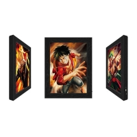 Quality Lenticular Flip Change Anime 3D Poster,3D Poster Frame LED Light Box for sale